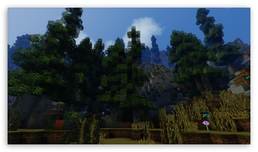 Download Minecraft With Shaders HD Wallpaper