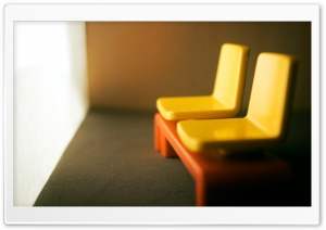 Mini Chairs HD Wide Wallpaper for Widescreen