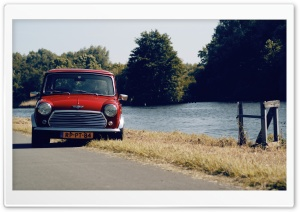 Mini Cooper Red Ultra HD Wallpaper for 4K UHD Widescreen desktop, tablet & smartphone
