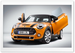 Mini Cooper S Scissors Doors 2016 Ultra HD Wallpaper for 4K UHD Widescreen desktop, tablet & smartphone