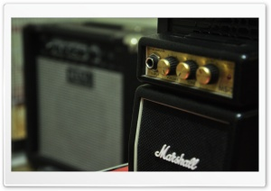 Mini Marshall HD Wide Wallpaper for 4K UHD Widescreen desktop & smartphone
