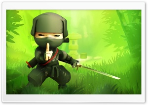 Mini Ninjas, Hiro HD Wide Wallpaper for Widescreen
