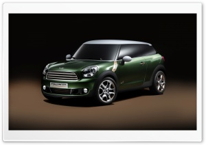 Mini Paceman HD Wide Wallpaper for Widescreen