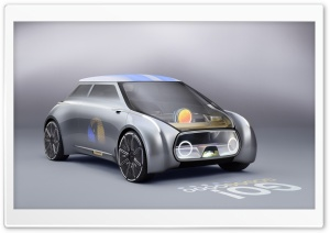 Mini Vision Next 100 Concept Car HD Wide Wallpaper for Widescreen