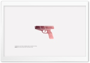 Minimal Artistic Mosaic WALTHER P99 HD Wide Wallpaper for Widescreen