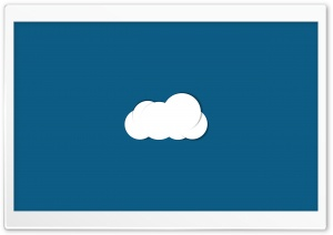 Minimal Cloud HD Wide Wallpaper for Widescreen