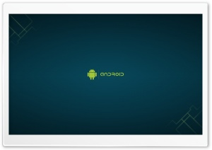Minimalist Android HD Wide Wallpaper for Widescreen