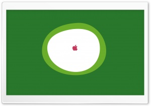 Minimalist Apple Logo HD Wide Wallpaper for Widescreen