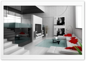 Minimalist Interior Design HD Wide Wallpaper for Widescreen