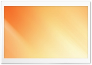 Minimalist Orange II HD Wide Wallpaper for Widescreen