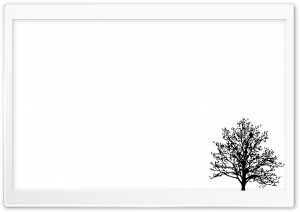 Minimalist Tree HD Wide Wallpaper for Widescreen