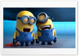 Minion Laught HD Wide Wallpaper for Widescreen