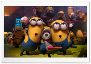 Minion Party HD Wide Wallpaper for 4K UHD Widescreen desktop & smartphone