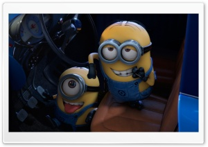 Minions HD Wide Wallpaper for Widescreen