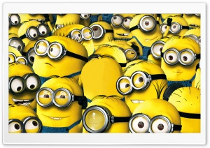 Minions 2015 Ultra HD Wallpaper for 4K UHD Widescreen desktop, tablet & smartphone