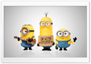 Minions 2015 Movie Ultra HD Wallpaper for 4K UHD Widescreen desktop, tablet & smartphone