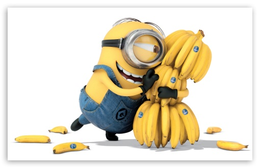 Minions Banana 2015 4k Hd Desktop Wallpaper For 4k Ultra Hd Tv