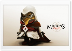 Minions Creed HD Wide Wallpaper for Widescreen