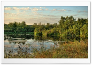Minnesota River Backwater HD Wide Wallpaper for Widescreen