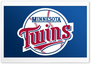 Minnesota Twins Logo HD Wide Wallpaper for Widescreen