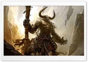 Minotaur HD Wide Wallpaper for Widescreen