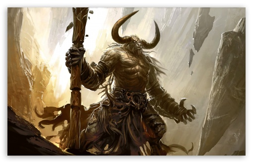 Minotaur HD wallpaper for Wide 16:10 5:3 Widescreen WHXGA WQXGA WUXGA WXGA WGA ; HD 16:9 High Definition WQHD QWXGA 1080p 900p 720p QHD nHD ; Standard 4:3 5:4 3:2 Fullscreen UXGA XGA SVGA QSXGA SXGA DVGA HVGA HQVGA devices ( Apple PowerBook G4 iPhone 4 3G 3GS iPod Touch ) ; Tablet 1:1 ; iPad 1/2/Mini ; Mobile 4:3 5:3 3:2 16:9 5:4 - UXGA XGA SVGA WGA DVGA HVGA HQVGA devices ( Apple PowerBook G4 iPhone 4 3G 3GS iPod Touch ) WQHD QWXGA 1080p 900p 720p QHD nHD QSXGA SXGA ;