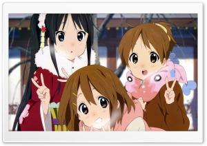 Mio Akiyama, Yui Hirasawa and Ui Hirasawa HD Wide Wallpaper for 4K UHD Widescreen desktop & smartphone