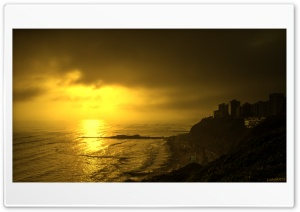 Miraflores, Peru HD Wide Wallpaper for Widescreen