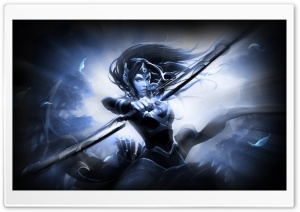 Mirana Dota 2 HD Wide Wallpaper for Widescreen