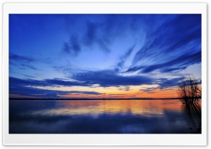 Mirroring The Clouds HD Wide Wallpaper for Widescreen