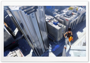 Mirror's Edge HD Wide Wallpaper for Widescreen