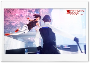 Mirrors Edge 2 Catalyst HD Wide Wallpaper for Widescreen