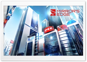 Mirrors Edge 2 Downtown HD Wide Wallpaper for Widescreen