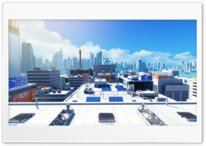 Mirror's Edge   Action Adventure Video Game HD Wide Wallpaper for Widescreen