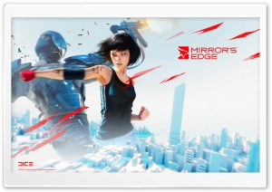 Mirror's Edge   Hand to Hand Combat HD Wide Wallpaper for Widescreen