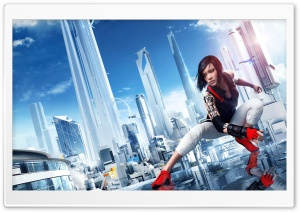 Mirror's Edge Catalyst City 2016 Video Game HD Wide Wallpaper for 4K UHD Widescreen desktop & smartphone