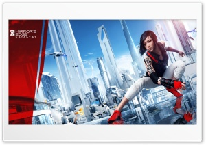 Mirror's Edge Catalyst Faith 2016 Video Game HD Wide Wallpaper for 4K UHD Widescreen desktop & smartphone