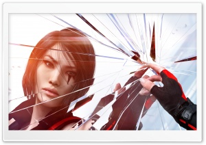 Mirrors Edge Catalyst Faith and Shattering Glass HD Wide Wallpaper for Widescreen