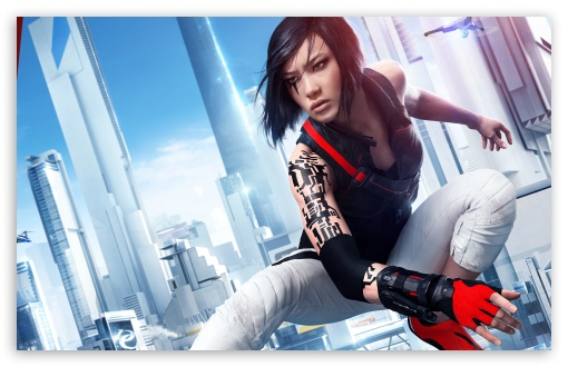 Download Mirror's Edge Catalyst Faith redesign 2016 HD Wallpaper