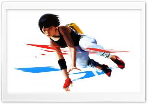 Mirror's Edge Faith HD Wide Wallpaper for Widescreen