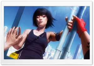 Mirrors Edge Faith HD Wide Wallpaper for Widescreen