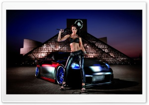 Miss Tuning HD Wide Wallpaper for Widescreen