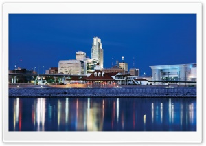 Missouri River At Omaha HD Wide Wallpaper for Widescreen