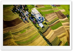 Mistelgau Aerial View Ultra HD Wallpaper for 4K UHD Widescreen desktop, tablet & smartphone