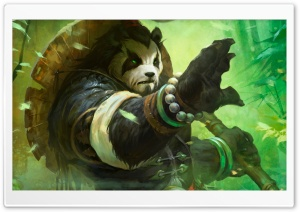 Mists of Pandaria HD Wide Wallpaper for Widescreen