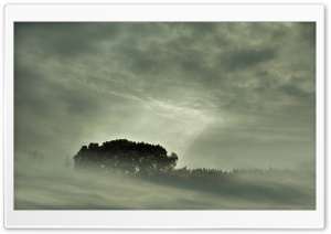 Misty Landscape HD Wide Wallpaper for Widescreen