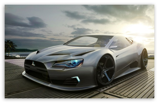 Mitsubishi Concept Car HD wallpaper for Wide 16:10 5:3 Widescreen WHXGA WQXGA WUXGA WXGA WGA ; HD 16:9 High Definition WQHD QWXGA 1080p 900p 720p QHD nHD ; MS 3:2 DVGA HVGA HQVGA devices ( Apple PowerBook G4 iPhone 4 3G 3GS iPod Touch ) ; Mobile WVGA iPhone PSP - WVGA WQVGA Smartphone ( HTC Samsung Sony Ericsson LG Vertu MIO ) HVGA Smartphone ( Apple iPhone iPod BlackBerry HTC Samsung Nokia ) Sony PSP Zune HD Zen ;