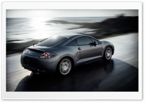 Mitsubishi Eclipse GT V6 Speed Ultra HD Wallpaper for 4K UHD Widescreen desktop, tablet & smartphone