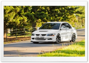 Mitsubishi Evolution IX HD Wide Wallpaper for Widescreen