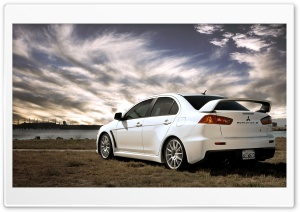 Mitsubishi Evolution X HD Wide Wallpaper for Widescreen